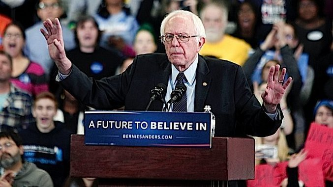 Killing the Future: Centrist Dems are Trying to Destroy the Optimism of Bernie Sanders' Followers