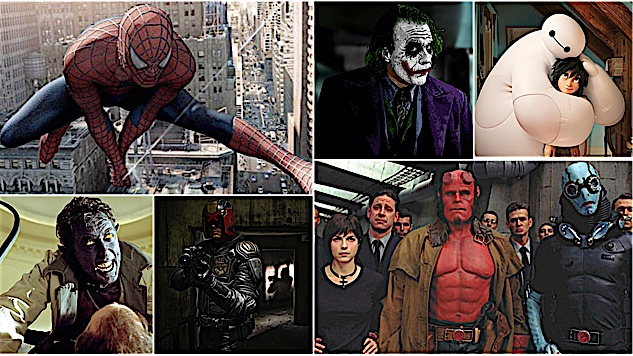 The 100 Best Superhero Movies of All Time
