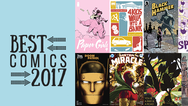 The 25 Best Comic Books of 2017