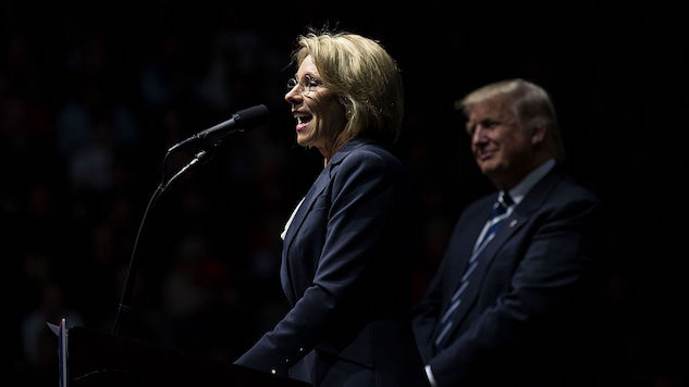 Betsy DeVos Cuts Obama-Era Regulations on For-Profit Colleges