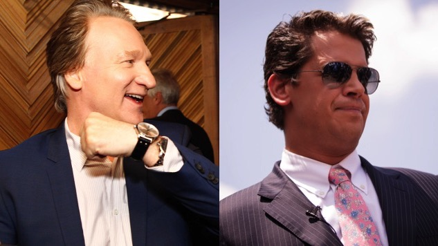Milo Yiannopoulos is Going on <i>Real Time with Bill Maher</i>