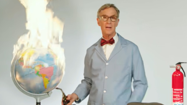 Watch Bill Nye, Climate Change Hero, Set the World on Fire on <I>Last Week Tonight</I>