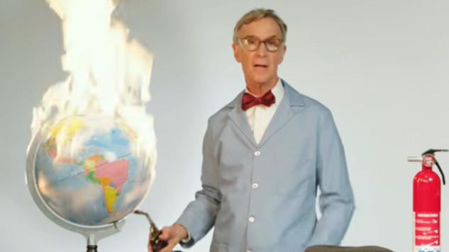 Watch Bill Nye, Climate Change Hero, Set the World on Fire on <I>Last Week Tonight</I>