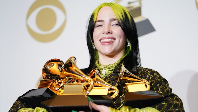 Billie Eilish Becomes Youngest Artist and First Woman to Sweep the Four Major Grammys Categories