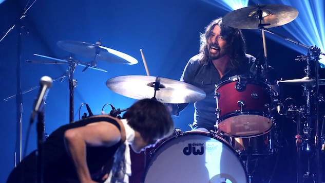 Watch Dave Grohl Cover Van Halen with The Bird and The Bee on <i>James Corden</i>