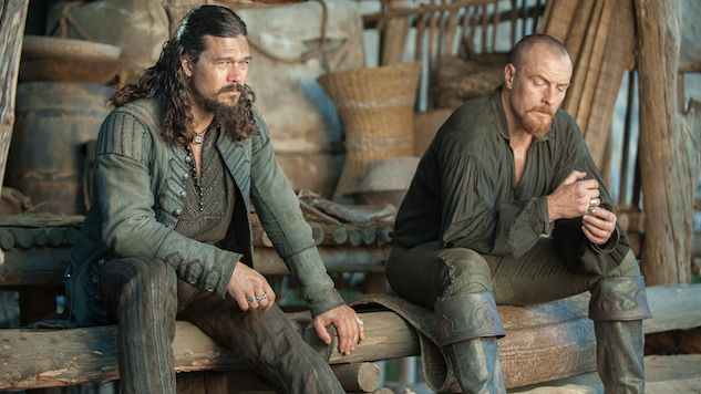 """<i>Black Sails</i> Stars Luke Arnold and Toby Stephens Preview the Final Season: """"Epic and Satisfying"""""""