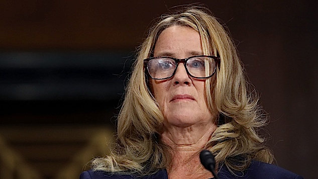 "Watch the Moment of the Hearing: Ford Says She is ""100%"" Certain About Kavanaugh"
