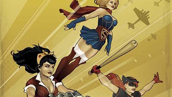DC Comics to Drop <i>Bombshells</i> Cover Variants, New Series in 2015