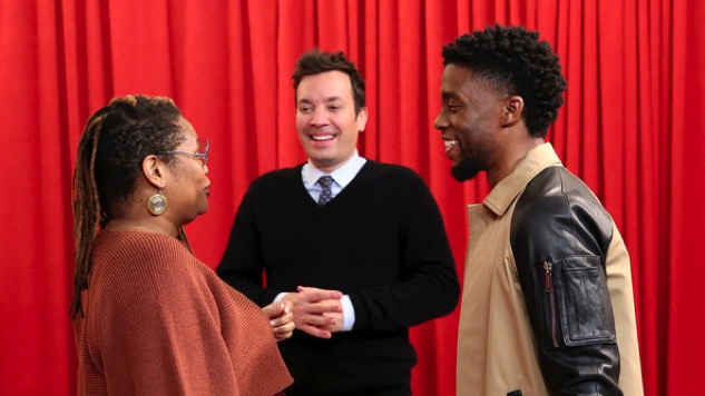 Chadwick Boseman Surprises <i>Black Panther</i> Fans on <i>Jimmy Fallon</i>