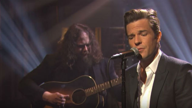 "Watch Brandon Flowers Perform an Acoustic Version of ""When You Were Young"""