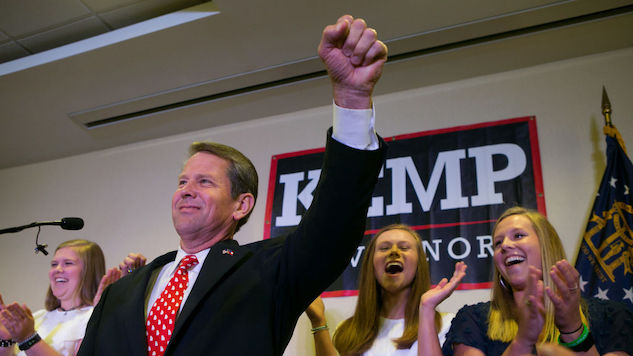 Gubernatorial Candidate Brian Kemp Keeps Finding New Ways to Rig His Own Election