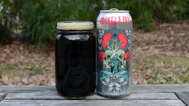 Burial Bolo Coconut Brown Ale Review