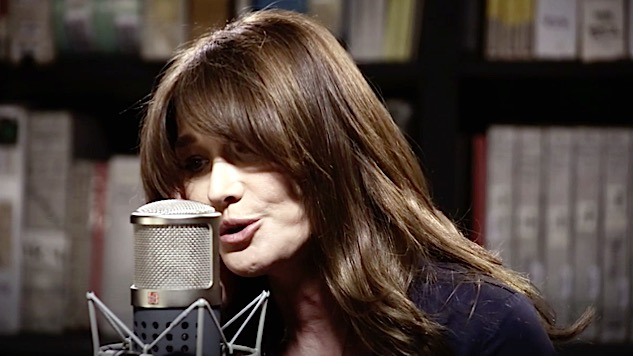 Paste Sessions: Carla Bruni Covers the Rolling Stones, Depeche Mode