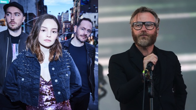 Watch The National Cover Frightened Rabbit with CHVRCHES' Lauren Mayberry