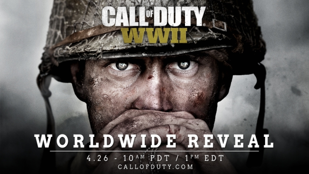 Activision Confirms <i>Call of Duty: WWII</i>, Reveal Livestream Coming Next Week