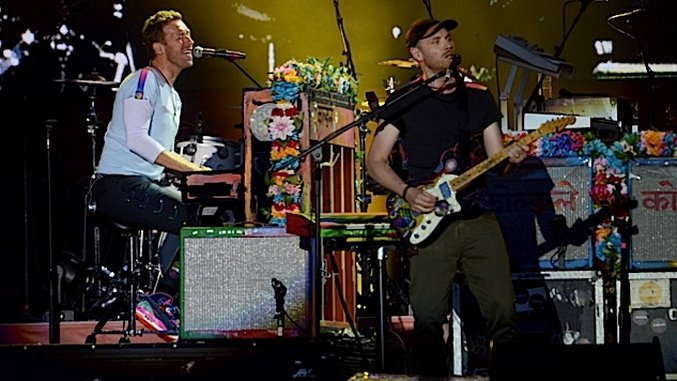 Watch Coldplay Perform a New, One-Time-Only Song for Houston