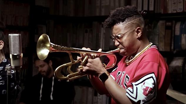 Watch Jazz Prodigy Christian Scott aTunde Adjuah Mesmerize the <i>Paste</i> Studio
