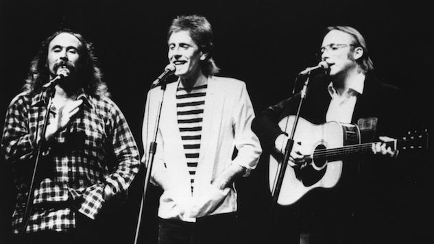"""Listen to Crosby, Stills, Nash & Young's Virulent 1970 Protest Song, """"Ohio"""""""
