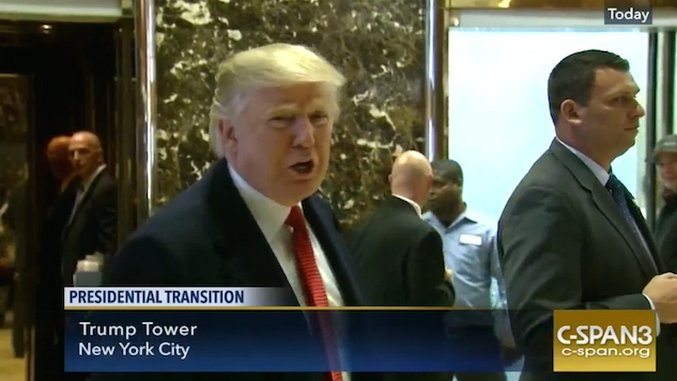 How Donald Trump's Presidency Could Make C-SPAN Great Again