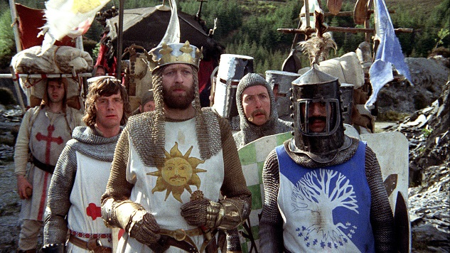 Unused <i>Holy Grail</i> Sketches Discovered in Monty Python Archives