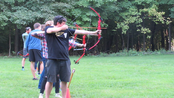 Campers Learning Archery.JPG
