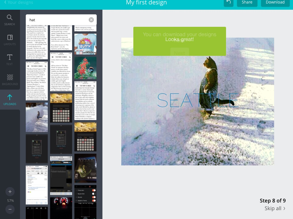 Canva Graphic Design Photo Editing App Review Ipad Paste