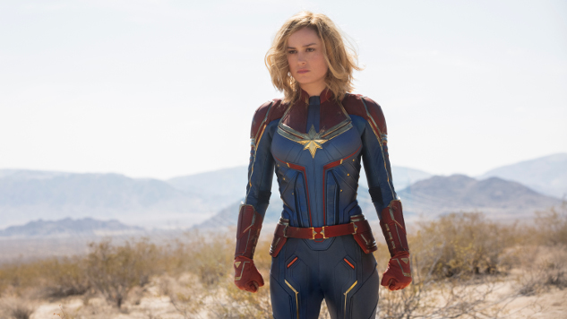 Marvel Shares New <i>Captain Marvel</i> Poster Ahead of Second Trailer's Premiere