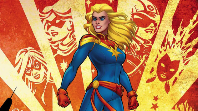 <i>Captain Marvel</i> Returns as an Ongoing Series from Kelly Thompson & Carmen Carnero