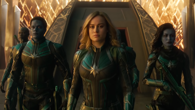 Brie Larson Swaggers Her Way Through New <i>Captain Marvel</i> Special Look