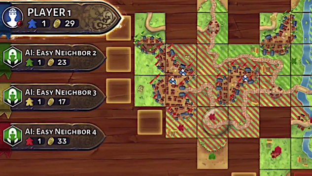Asmodee Bringing <i>Carcassonne</i> to the Nintendo Switch Later This Year