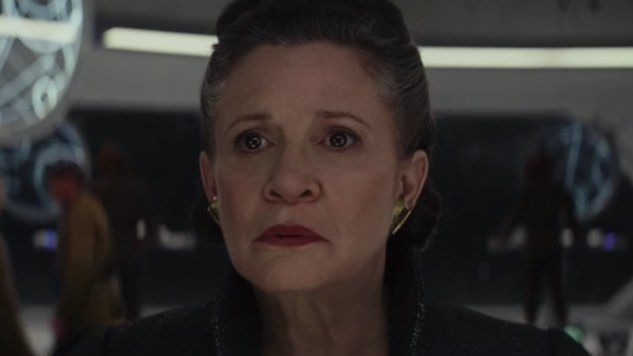 <i>The Last Jedi</i> Is Dedicated to Carrie Fisher's Memory
