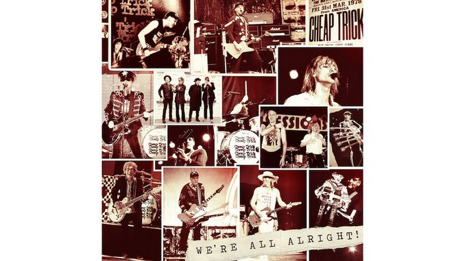 Cheap Trick: <i>We're All Alright!</i> Review