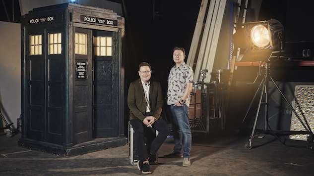 """She's a Very Democratic Doctor"": <i>Doctor Who</i>'s Chris Chibnall and Matt Strevens on Jodie Whittaker and Taking Helm of a Classic"