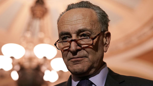 Chuck Schumer Just Tweeted the Ultimate Capital-D Democrat Tweet