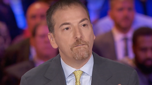 """Chatty"" Chuck Todd Spoke More Than Most of the Candidates During Night One of the Democratic Primary Debates"