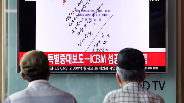 North Korea Fires Missile Over Japan, South Korea Tests Bombing Run in Response