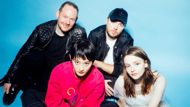"CHVRCHES Go J-pop on New Song, Teaming up with Wednesday Campanella for ""Out Of My Head"""