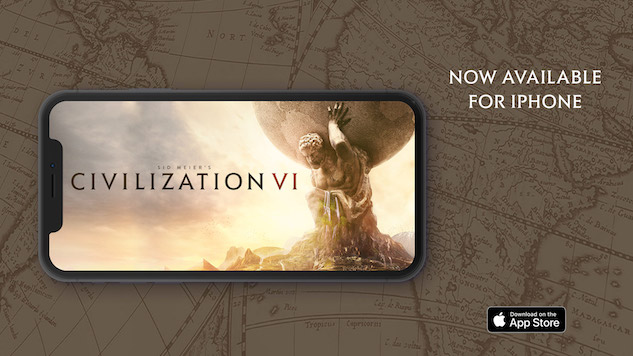 <i>Civilization VI</i> Is Now Available on iPhone