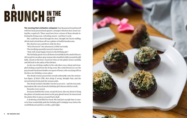 The Snacking Dead Parody Cookbook Features Walking Dead Inspired Recipes Books News