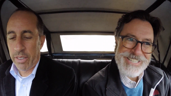 Driving In Cars With Comedians Stephen Colbert