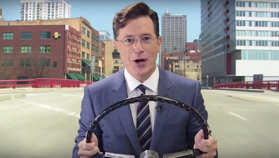Stephen Colbert is the Newest Celebrity Voice for Waze GPS