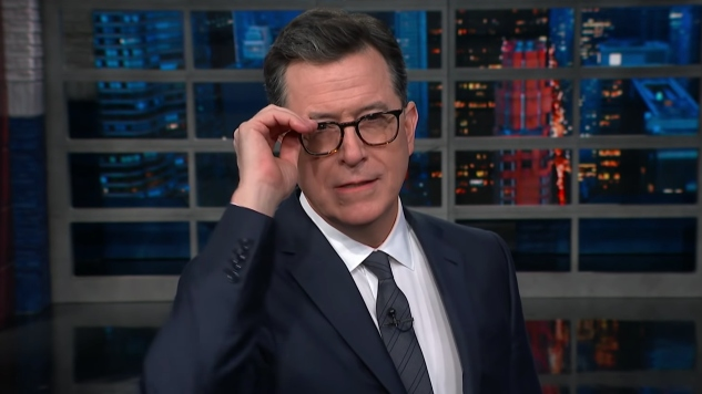 Stephen Colbert Taunts Former CBS Boss Les Moonves over Severance Check