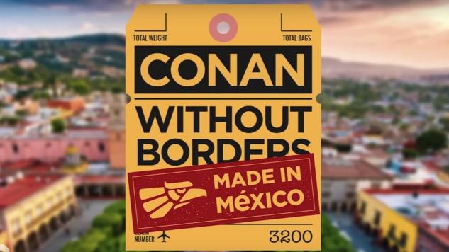 Conan O'Brien's Bringing Diego Luna and Vicente Fox Along for Mexico Special