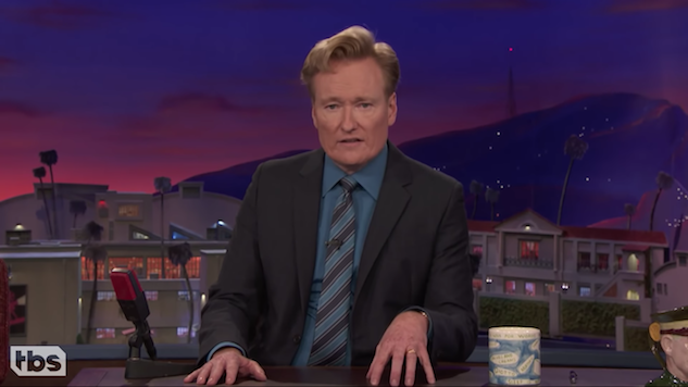 Conan O'Brien Bids Farewell to House Band
