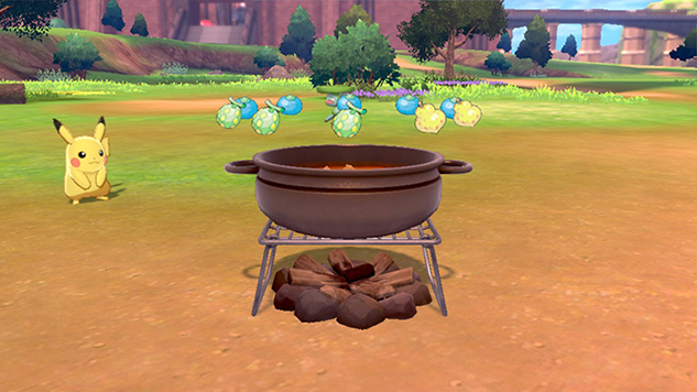 A Guide to Camping and Cooking Curry in <i>Pokémon Sword</i> and <i>Shield</i>