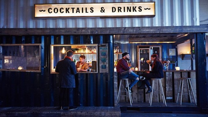 Jet-Set Bohemian: Pop-Up Food Halls