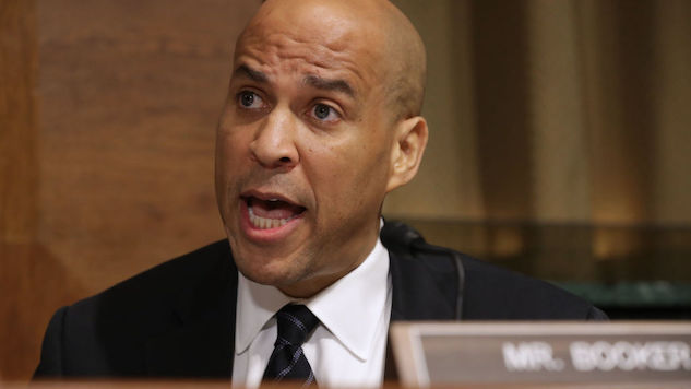 Manufacturers of Tijuana Tear Gas Are Also Cory Booker Supporters