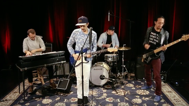Watch Vulfpeck's Cory Wong Jam Out in the Paste Studio