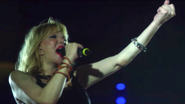 """Watch Courtney Love Perform Hole's """"Celebrity Skin"""" with 1,500-Musician Band"""