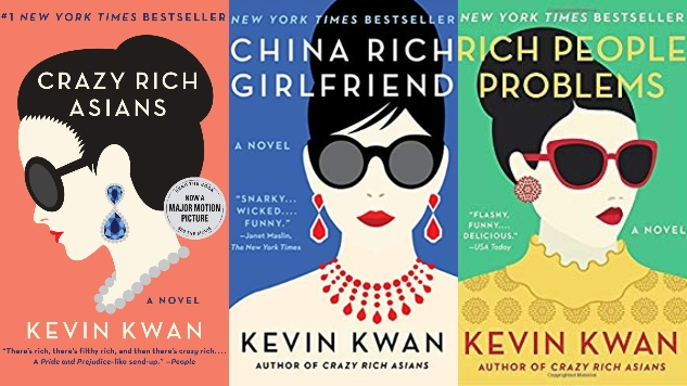 <i>Crazy Rich Asians</i> and Its Two Sequels Have Sold 1.5 Million Copies This Year